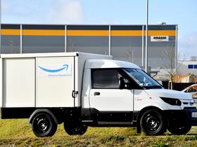 Amazon Orders Electric Vans for Munich Distribution Center