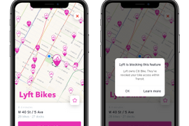 Lyft Removes Bikes from Transit App