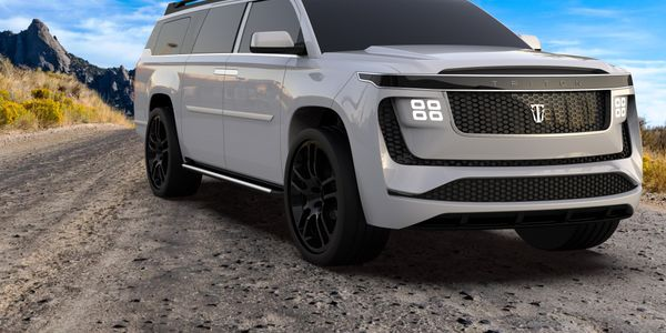 The four-wheel-drive quad motor will deliver 1,500 hp and acceleration of 0 to 60 mph in 2.9...