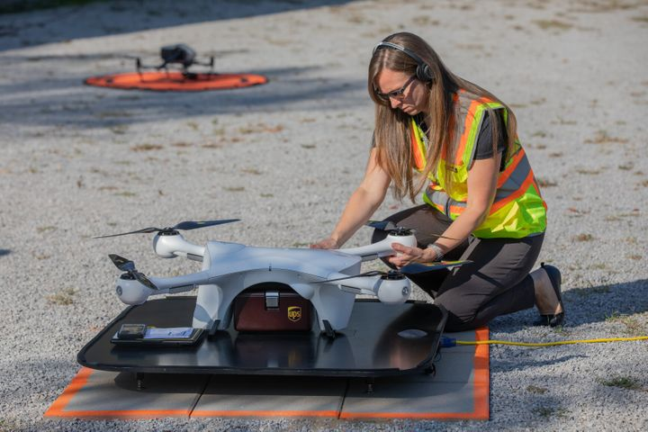 The company will initially expand its drone delivery service further to support hospital campuses around the country, and to provide solutions for customers beyond those in the healthcare industry. - Photo via UPS.