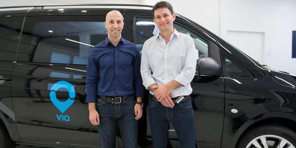 Daniel Ramot and Oren Shoval, co-founders of Via, a digital infrastructure provider, have...