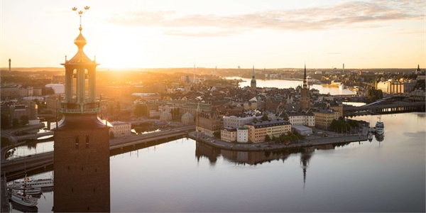 Image of Stockholm City Hall.