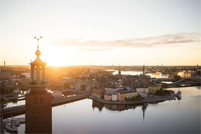 Image of Stockholm City Hall.  - Björn Olin/ mediabank.visitstockholm.com