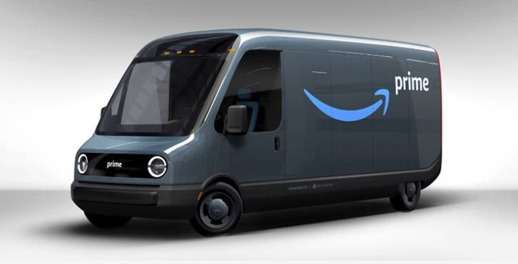 Amazon Orders 100,000 Rivian Electric Delivery Vans