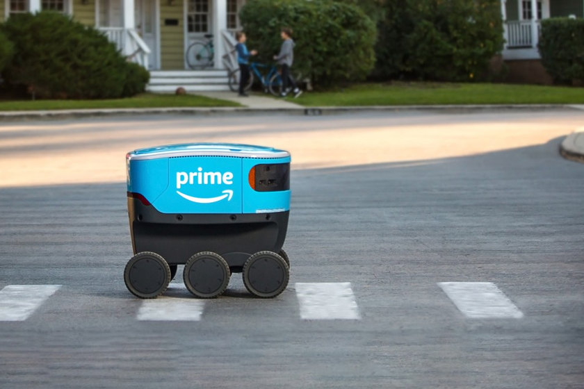 Amazon Launched Last-Mile Delivery Robots in Southern California