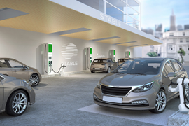 Electrify America to Deploy Robotic Charging Facility for Self-Driving Vehicles