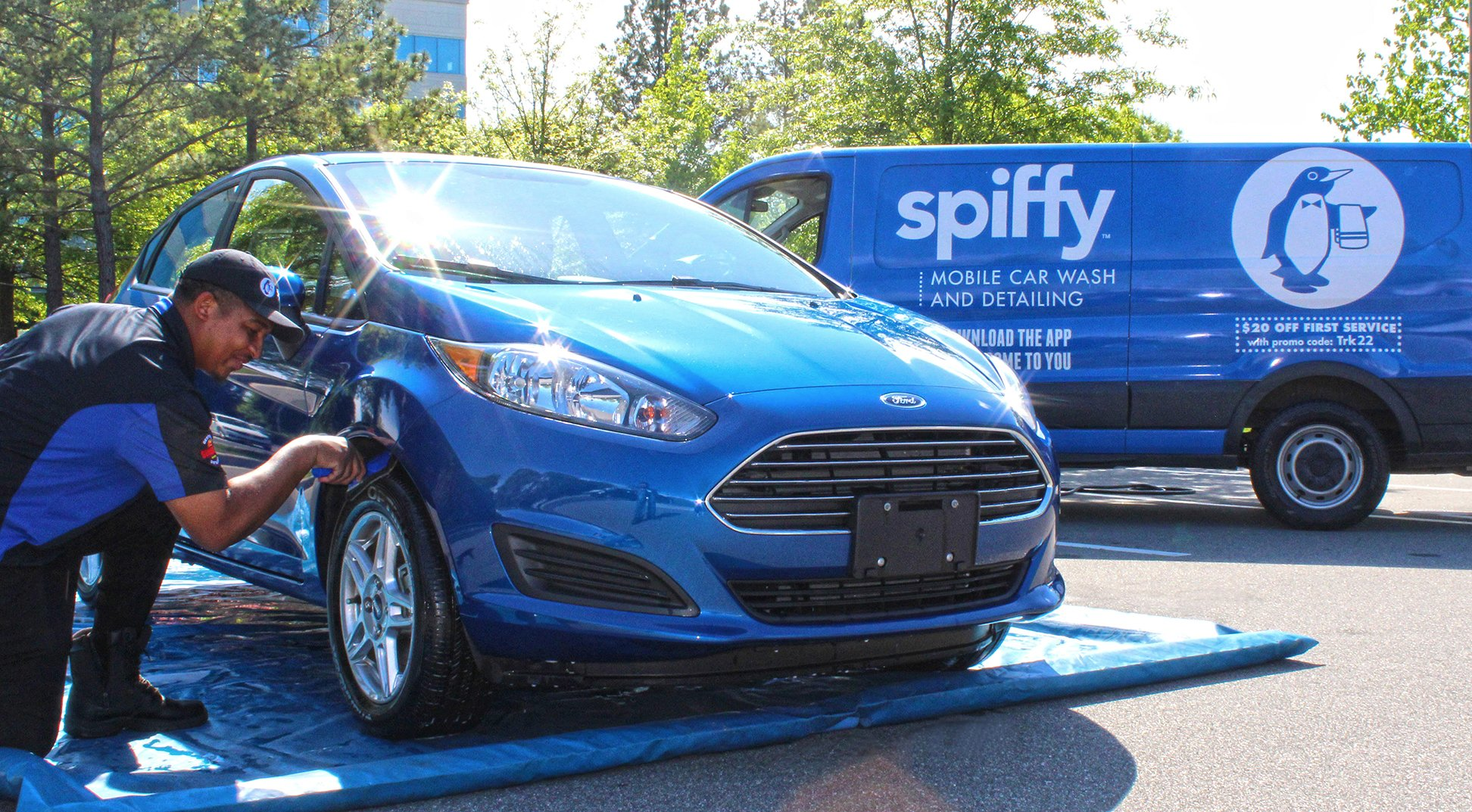 Spiffy, Ford Partner on Connected Car Initiative