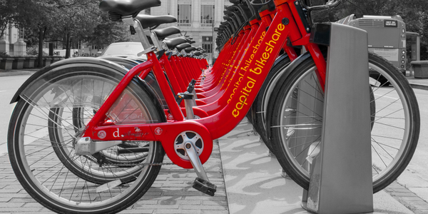 In addition to ride-hailing, bikeshare, and public transit information, users can also unlock...