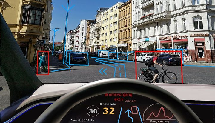 The IIHS study contends that self-driving vehicles will need to account for uncertainty about what other road users will do, such as driving more slowly than a human driver would in areas with high pedestrian traffic or in low-visibility conditions. - Photo viaEschenzweig/Wikimedia.
