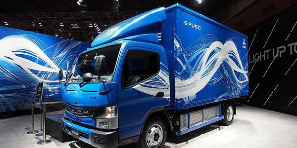 With its eCanter, Fuso was the industry's first OEM to offer a series produced all-electric...
