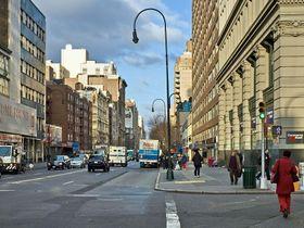 NYC Begins 14th Street Vehicle Ban