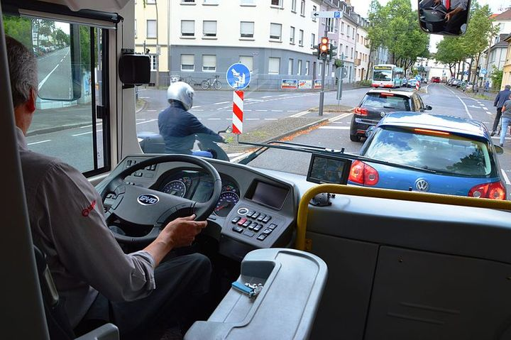 The latest trend in telematics is using video technology to monitor the surroundings of the vehicle on the road as well as the driver in the cab. - Photo via Spielvogel/Wikimedia.