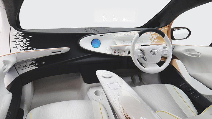 The Toyota Concept-i will be used during the Olympic torch relay and as a lead vehicle in the marathon. It will also demonstrate Level 4 autonomous driving during test rides on public roads surrounding the Toyota City Showcase.