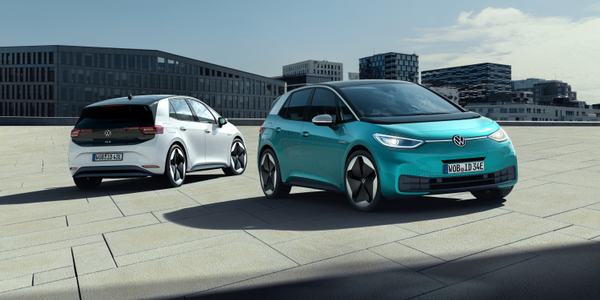 The fully electric ID.3 will be unvieled at the 2019 IAA Frankfurt Auto Show.