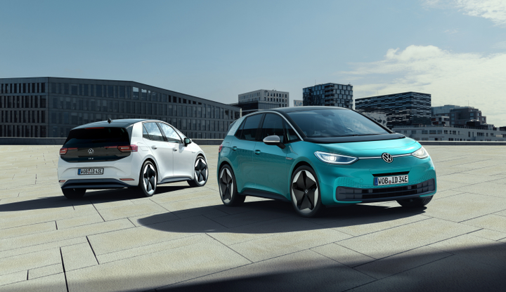The fully electric ID.3 will be unvieled at the 2019 IAA Frankfurt Auto Show.  - Photo via Volkswagen.