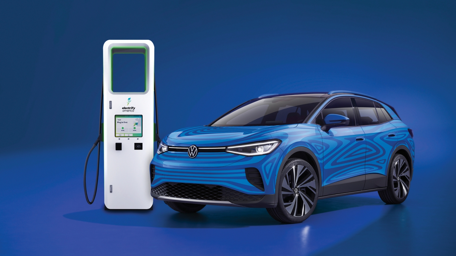 Electrify America Offers Volkswagen ID.4 Owners 3 Years of Free EV Charging