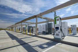 Volkswagen Opens Charging Station at Arizona Global Test Site