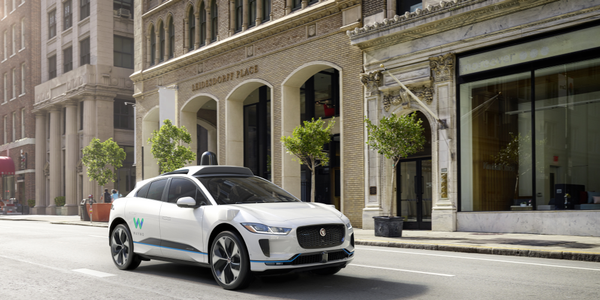 Waymo's fully self-driving Jaguar I-PACE electric SUV 3