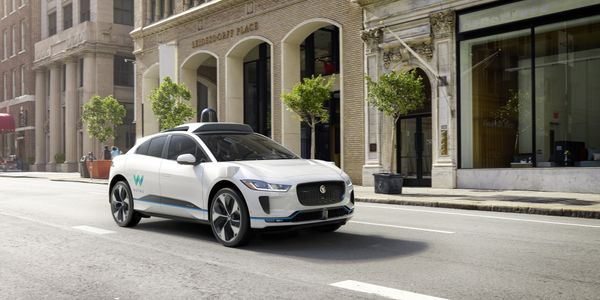 Photo of Waymo's fully self-driving Jaguar I-PACE electric SUV 3.