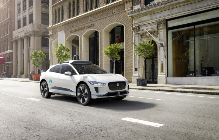 Waymo's fully self-driving Jaguar I-PACE electric SUV 3 - Photo via Waymo.