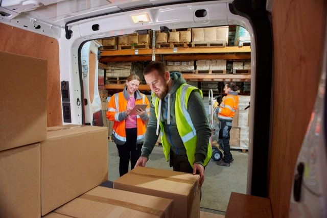 eLCVs were tested under load to understand real-world range parameters. - Photo Arval UK
