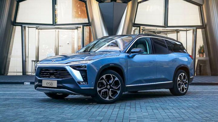 Chinese OEM NIO is launching in Norway with its flagship ES8 SUV - Photo: NIO