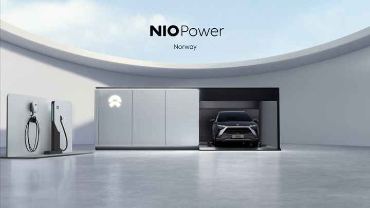 NIO will provide its battery swap station facility at four locations connecting five major cities and freeways. - Photo: NIO