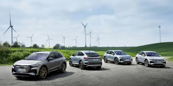 Audi revelead several major efforts toachieve net-zero emissions by 2050. With the new e-tron...