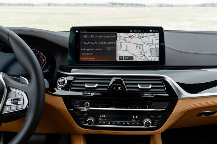 Mobility app RingGo has been integrated into BMW models via an Over The Air update -