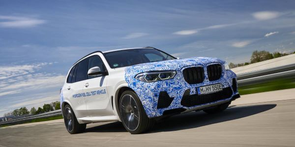 The first prototypes of the hydrogen-powered vehicles are now being tested on European roads.