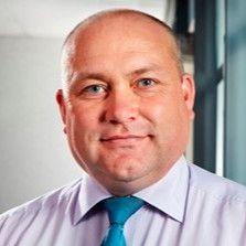 Duncan Webb, head of fleet for ISS World. -