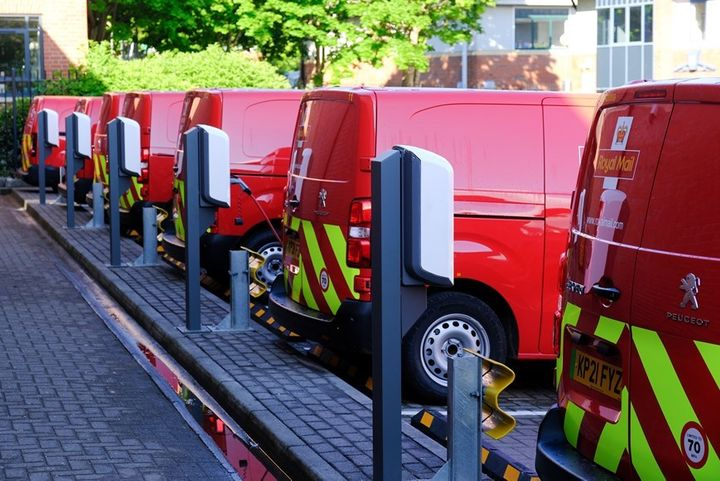 Royal Mail is electrifying its fleet with the addition of 3,000 light commercial vehicles to its fleet. - Credit: Royal Mail