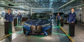 Series Production of BMW iX Now Underway
