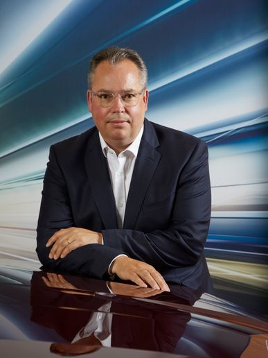 Chris Brownridge - the newly appointed Chief Executive officer of BMW Group UK - Credit: BMW