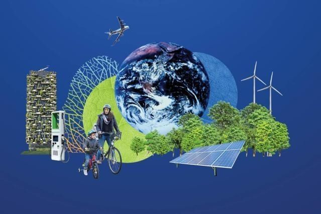 The European Green Deal is a wide ranging proposal by the European Commission to radically reduce CO2 emissions in Europe. - Credit: European Commission