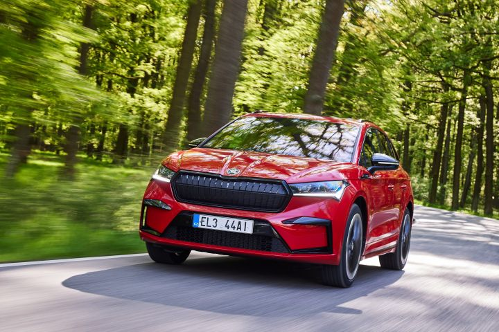 SKODA all electric model ENYAQiV was named best in the mid-size electric car category in the Firmenauto 2021 Company Car of the Year Awards. - SOURCE: Skoda