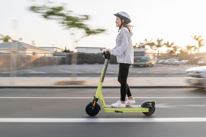A new report suggests that unregulated e-scooter riding will result in accidents for one-in-five riders. New e-scooters, such as the Superpedestrian from LINK, aim to incorporate safety features that mitigate potential hazardous riding. - Credit: LINK