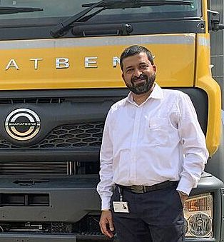 Ashrum Jain, Daimler India Commercial Vehicles' new COO, is responsible for supplier management & logistics. - Credit: Daimler India Commercial Vehicles