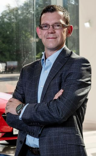 James Taylor: coordinating a group brand approach to large fleet sales. - Credit: Stellantis UK.