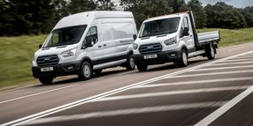 Ford Trials E-Transit With European Fleets