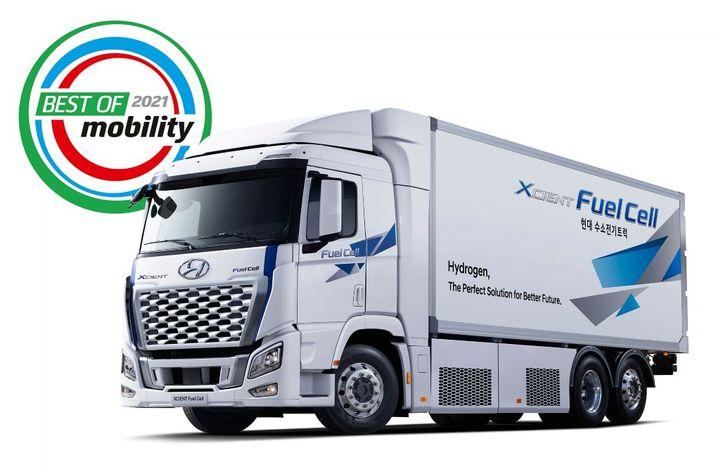 Hyundai Fuel Cell Truck - Credit: Hyundai
