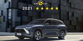 NIO ES8 Receives 5-Star Euro NCAP Safety Rating