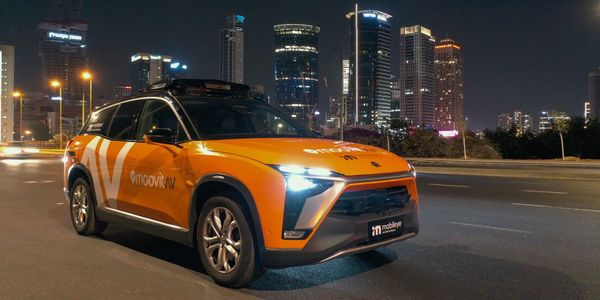 The autonomous robotaxi option will be part of the ride-hailing service SIXT ride and included...
