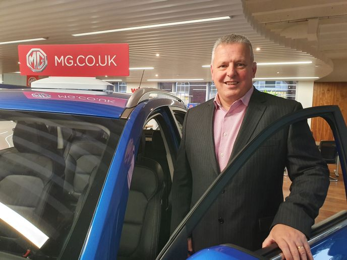 Geraint Isaac steps up to the new role of head of fleet sales at MG Motor - Credit: MG Motor