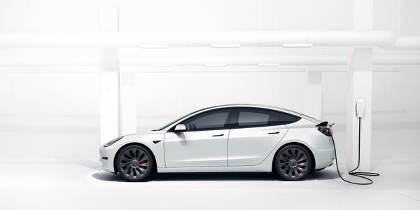 Photo: The Tesla Model 3 electric vehicle was the best-selling vehicle in the September...