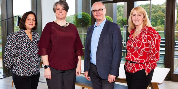 Zenith Commercial new senior managers. Pictured, from left to right: Sally Warren, Suzanne...