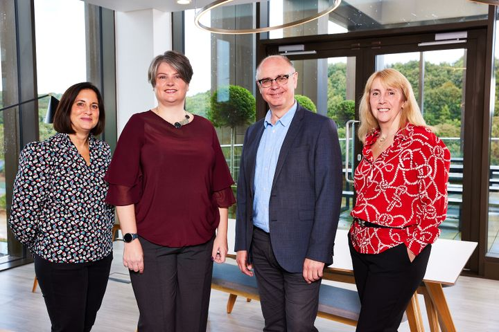 Zenith Commercial new senior managers. Pictured, from left to right: Sally Warren, Suzanne Wilkinson, Martin Jenkins and Carol Parkes. - Credit: Zenith Commercial