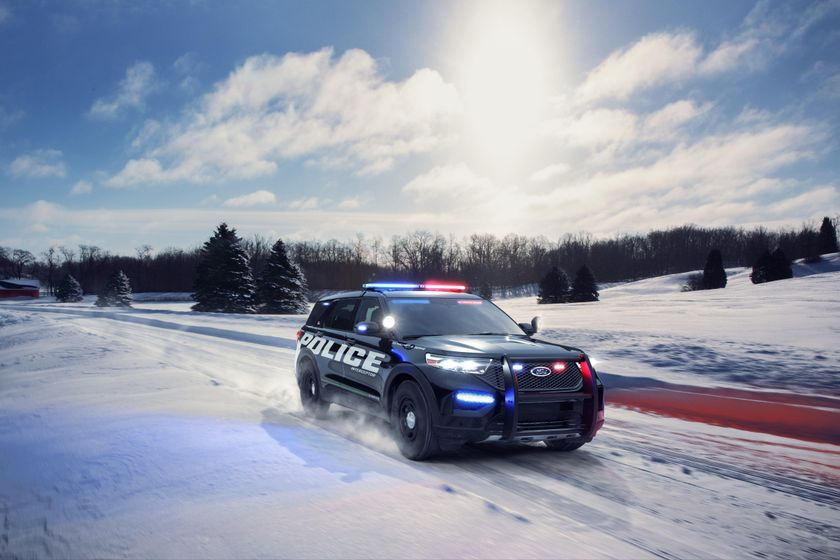 Ford Police Interceptor Utility New Feature Overview