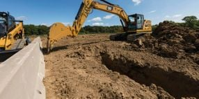 Caterpillar Excavators Offer Automation, E-Fence Features, Redesigned Cab