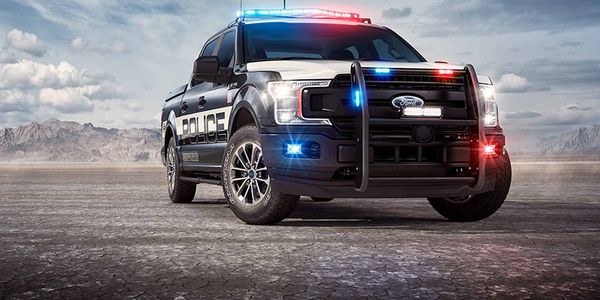 The F-150 Police Responder: Pursuit-Rated Tough